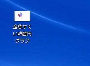 デスクトップ円グラフ画像