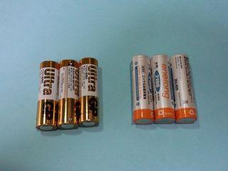 乾電池&NiH充電池画像