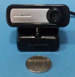 ELECOMウェブカメラ